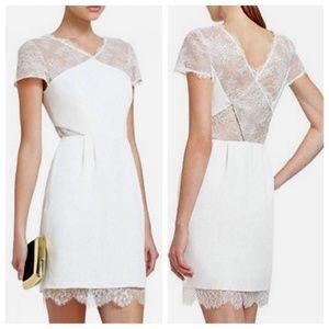BCBC MaxAzria Nel Ivory Lace Dress Sz 0